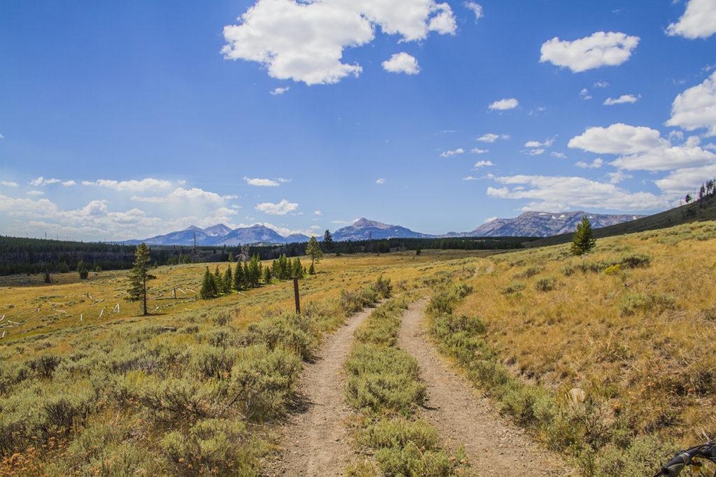 yellowstone national park mountain biking
