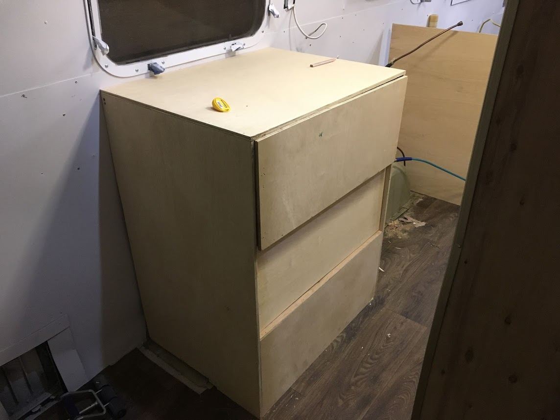 Building Airstream Cabinets – Airstream Full Time Travel